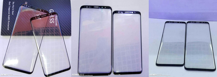 Samsung Galaxy S9 ed S9 Plus, il touch