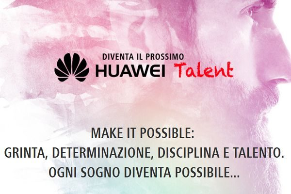Huawei Talent concorso