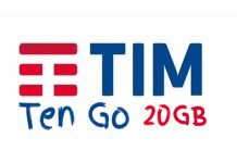 TIM Ten GO con 20 GB