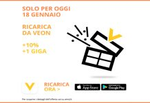 Wind regala il 10% e 1 GB con Veon