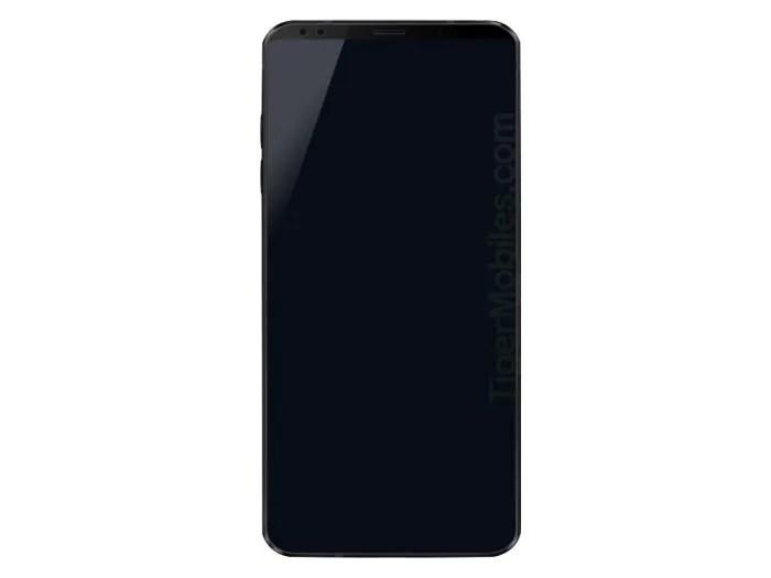 LG G7: appare in un nuovo render con doppia camera frontale