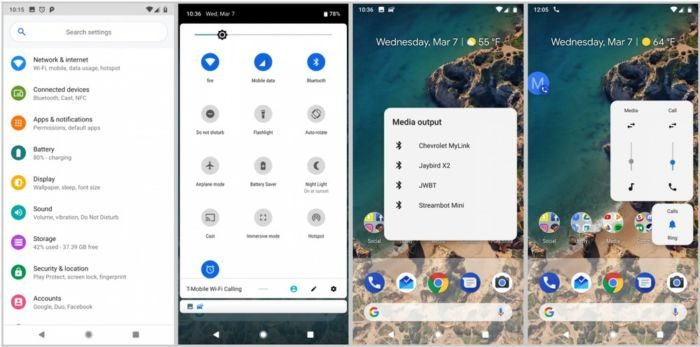 Android P tema