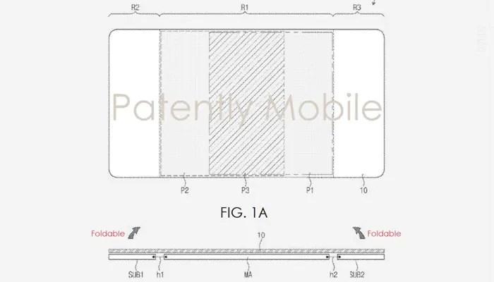 Samsung Galaxy S10 immaginato con notch e retro rivisitato