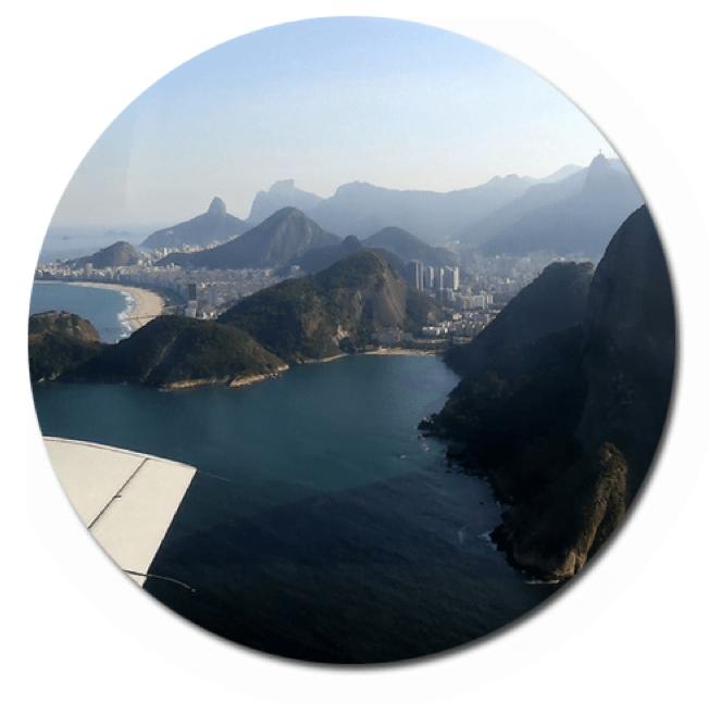 Vai viajar? Site informa o lado do avião com a melhor vista