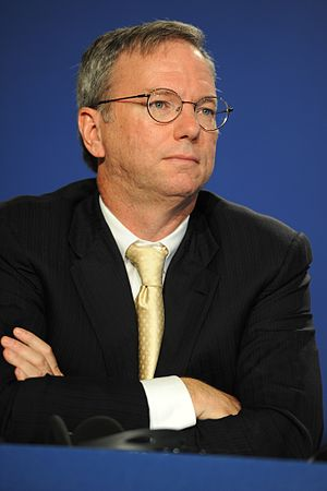 English: Eric Schmidt, Executive Chairman of G...
