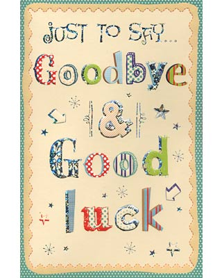 Farewell Card Printable 5 Best Images of Free Printable Funny - printable goodbye cards