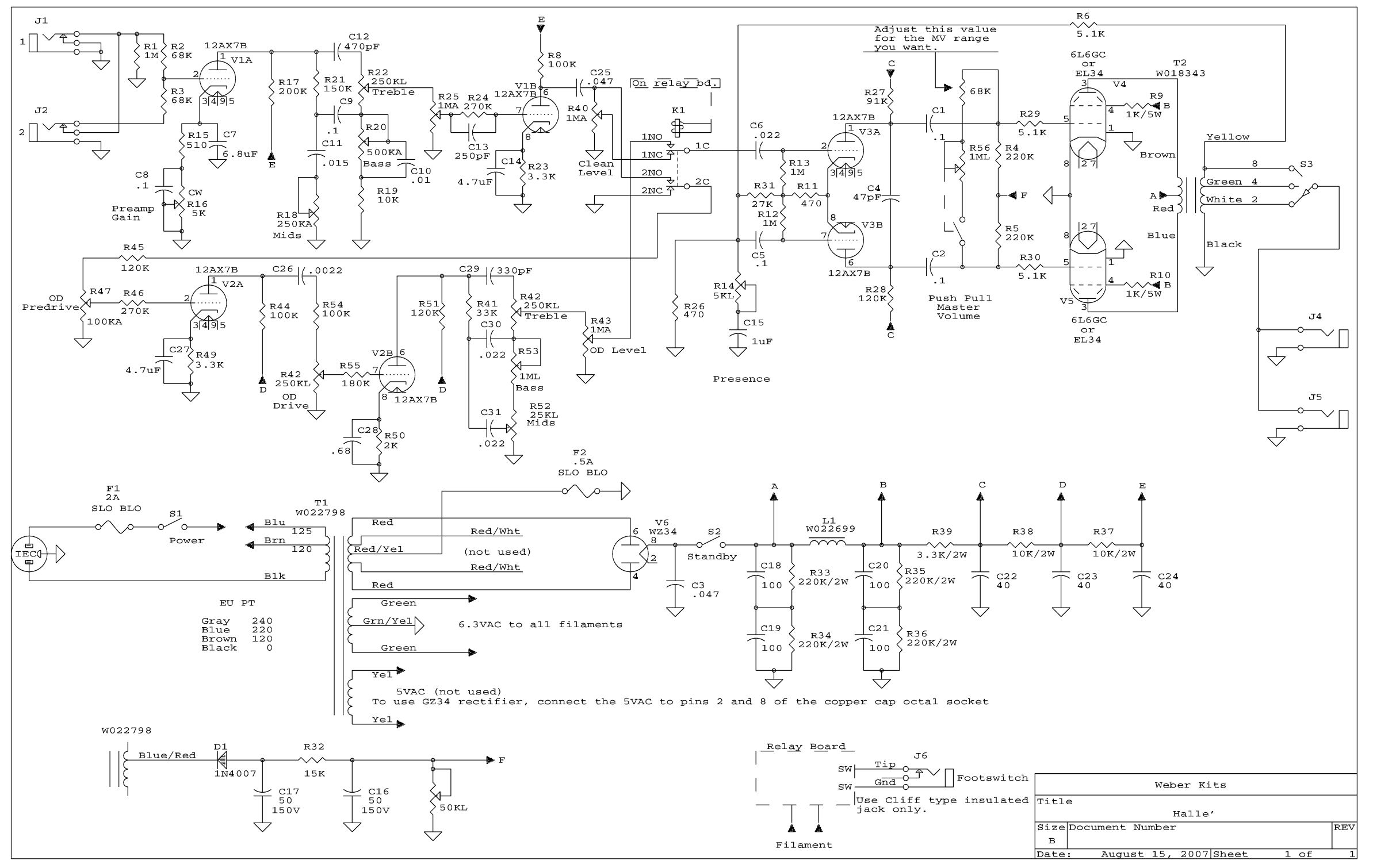 dumble schematic