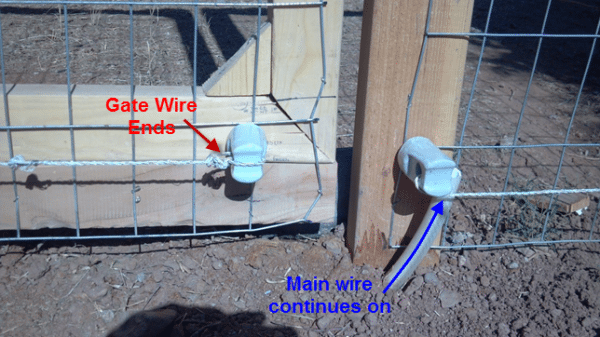 DIY Electric Fence / Hot Wire For Animals (Part 2) - TeeDiddlyDee