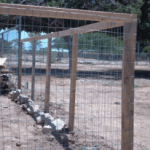 How To Build a Fence For Yard or Garden (Part 1)