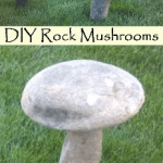 How To Make Rock Mushrooms For The Garden