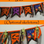 DIY Halloween Flag Banner-Free Printable