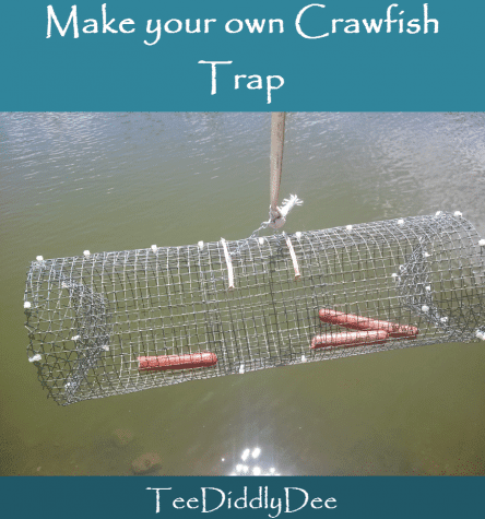how to build a crayfish trap