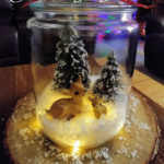 DIY Christmas Jar Diorama