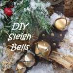 DIY Sleigh Bells from an old belt