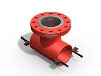 Split tee--hebei cangzhou Pipe Fitting Manufacture Co,.LTD