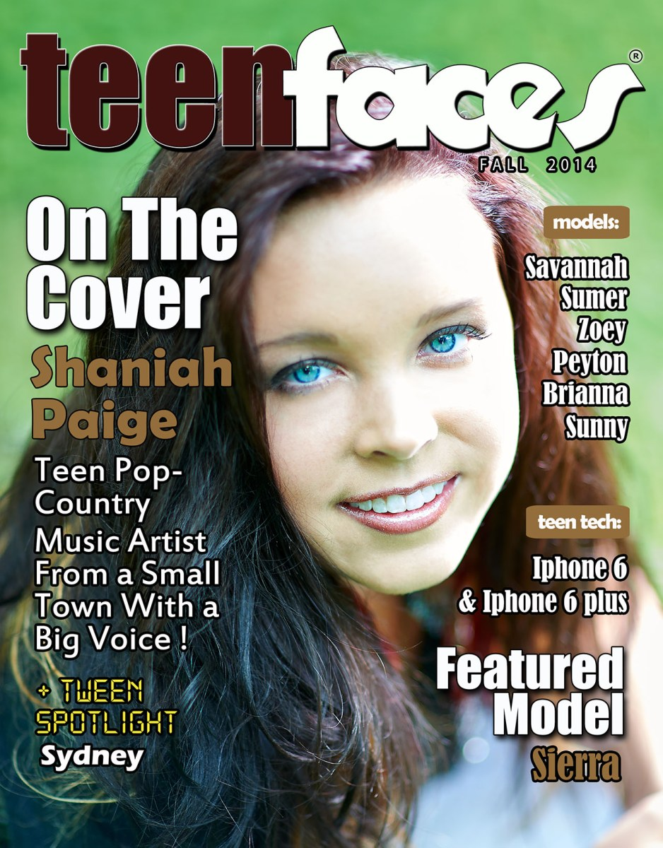 TeenFaces Fall Issue 2014