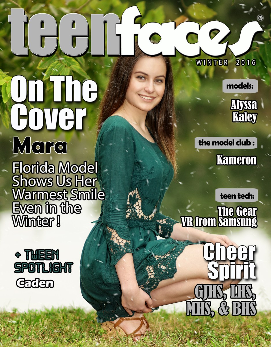 TeenFaces Magazine Winter
