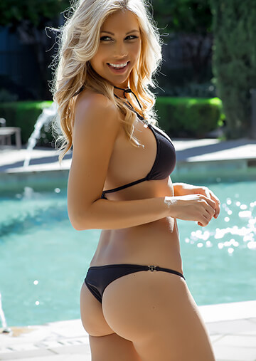 Solid Black Wallpaper Mid Rise Cheeky Bikini Bottom In Black With Teenyb Charm