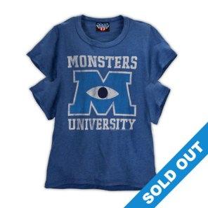 Monsters University 4 Sleeved T-Shirt