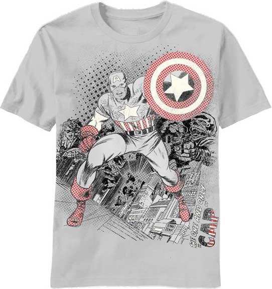 vintage superhero t shirts