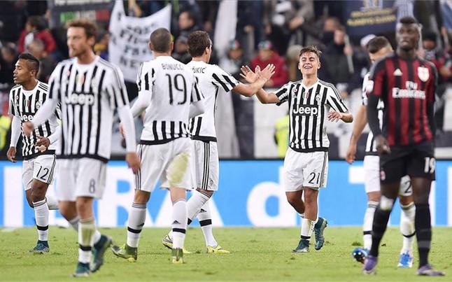 Juve vence a Milan