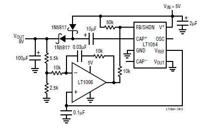 circuit diagram of 3v dc to 5v dc regulated power supply