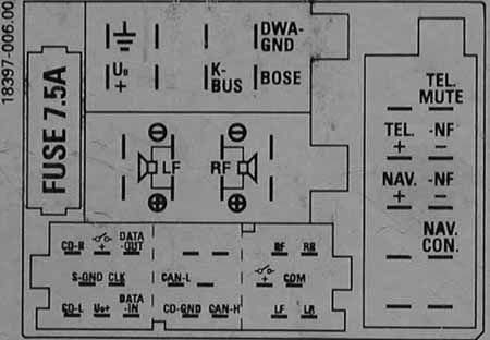 audi chorus wiring diagram