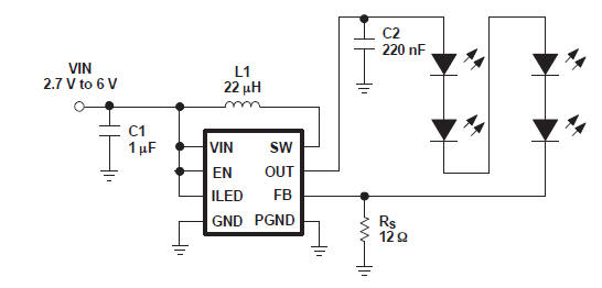 viper12a current selectable led driver circuit diagram