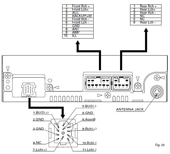 12 volt car radio wiring diagram