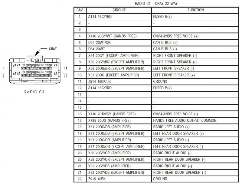 wiring diagram for kenwood radio