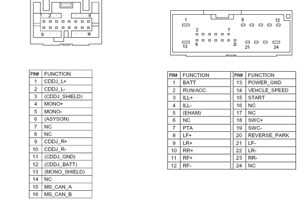 1999 ford radio wiring diagram