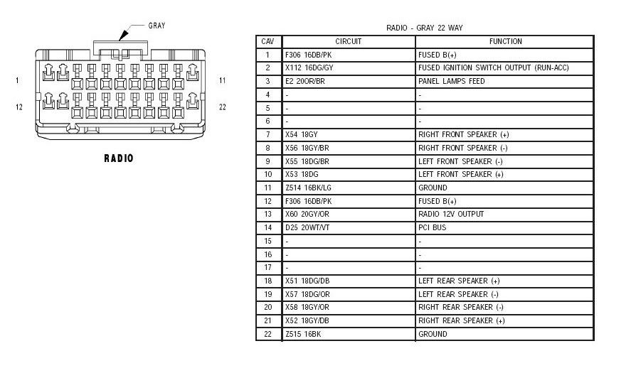 2002 Jeep Wrangler Speaker Wiring - Wiring Diagram Write