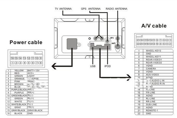 radio speaker wiring diagram