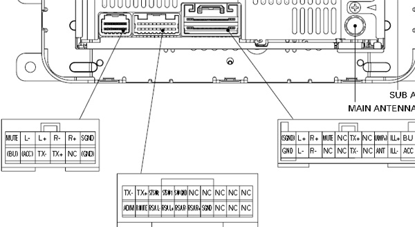 car stereo wiring diagram pioneer