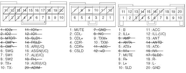 LEXUS Car Radio Stereo Audio Wiring Diagram Autoradio connector wire