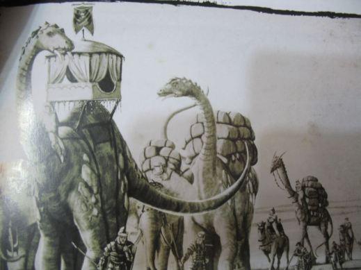 Dinosaurier - leider nicht im Spiel