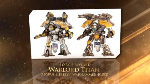 Bestes Figuren-Kit: Warlord Titan von Forgeworld.