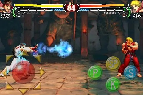 Street Fighter para iPhone