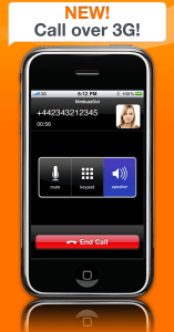 Nimbuzz: Voip via 3G no iPhone