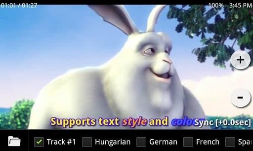 aplicativo player de vídeo