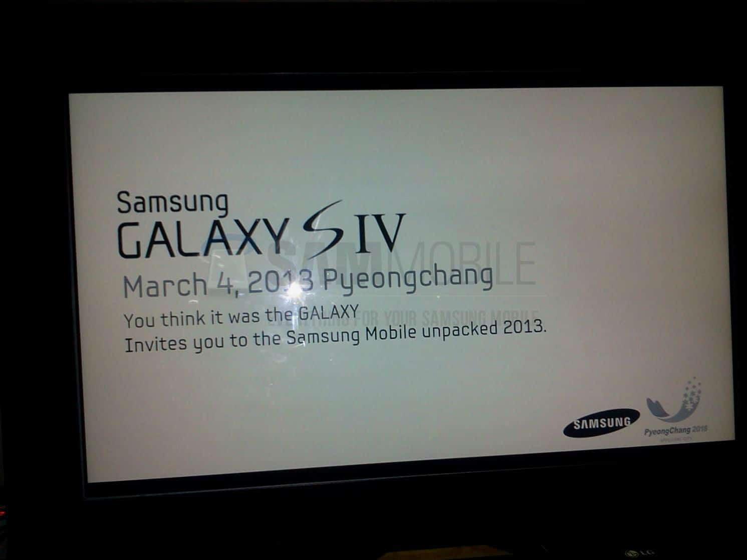 Suposto Galaxy S4