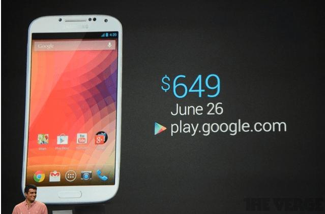 Galaxy S4 Nexus