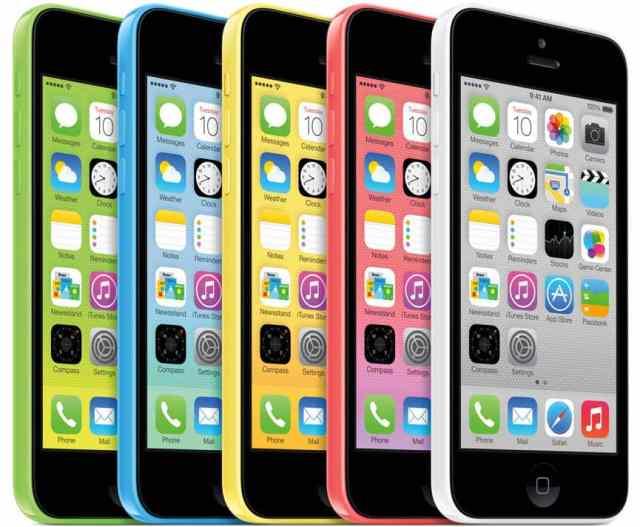 Melhores smartphones do Brasil - iPhone 5C