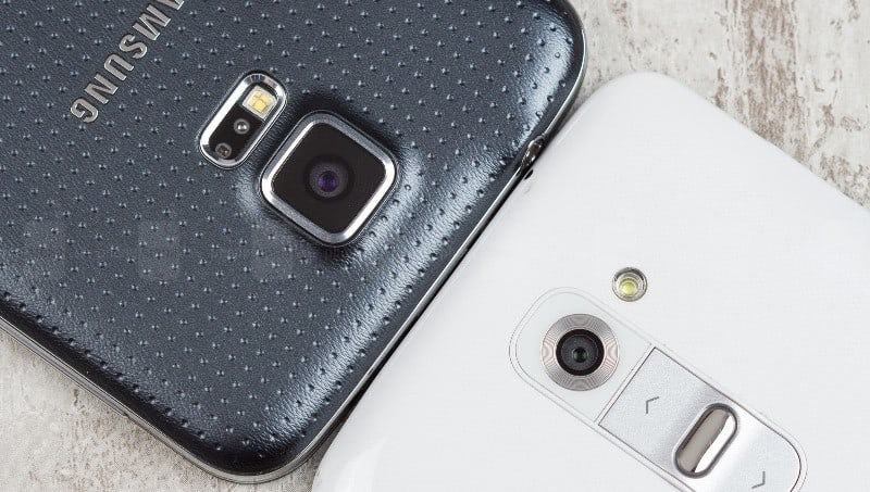 Galaxy S5 vs LG G3