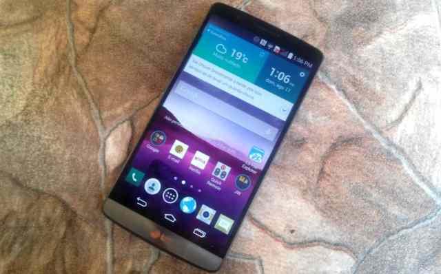 review LG G3 - tela