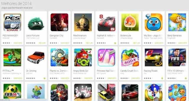 melhores jogos android 2014