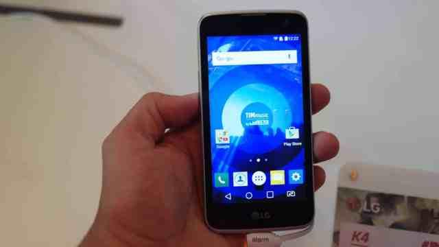 LG K4, novo smartphone de entrada da LG