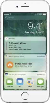 Novo iOS 10 notificações