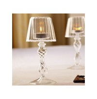 Crystal Glass Candle Tea Light Holder Table Lamp Home ...