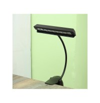 LED Clip-on Music Stand Clamp Night Light Bed Table Desk ...